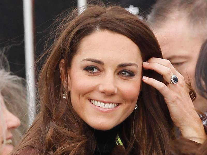 Kate Middleton Is Not Allowed To Wear Colored Nail Polish. Some ...