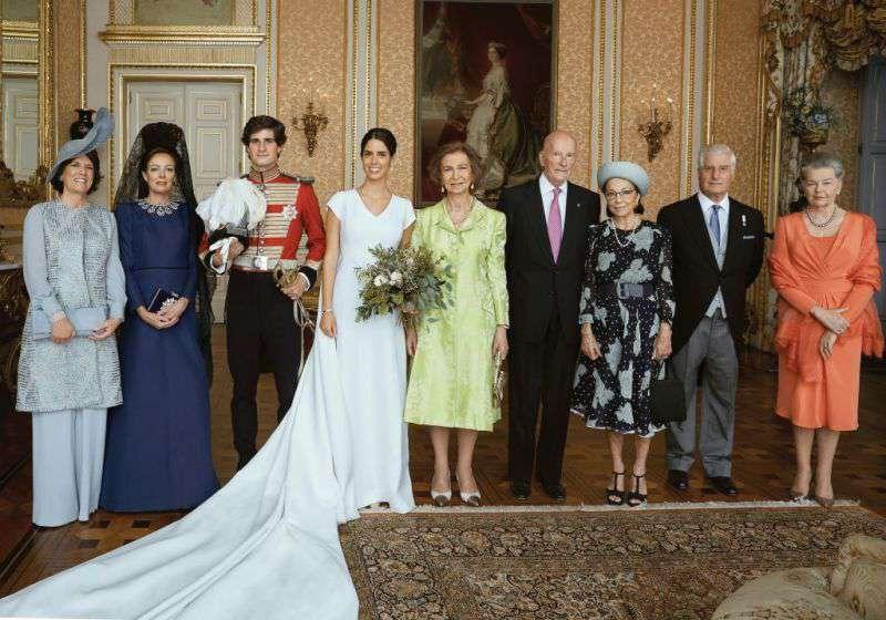 Octobre est le mois des mariages royaux : Le duc de Huéscar épouse sa petite amie Sofía Palazuelo
