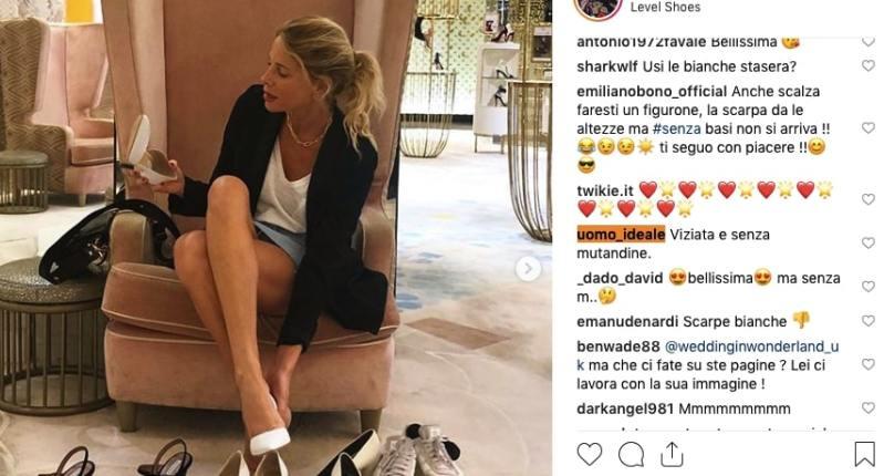 """""""Ma sei senza mutande!"""": il nuovo scatto di Alessia Marcuzzi solleva la polemica"""