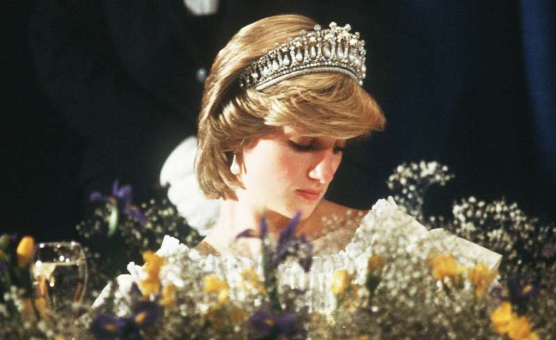 Queen Mother and Princess Diana