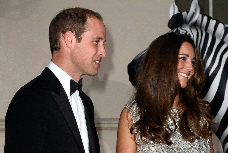 Shimmering Duchess: Kate Middleton's First Post-Baby Evening Gown Still Making Waves Years Later