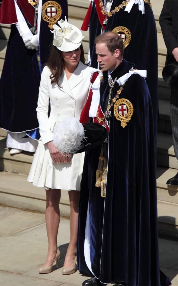 Los atuendos que Kate Middleton ha usado en la Orden de la Jarretera durante los últimos 11 años