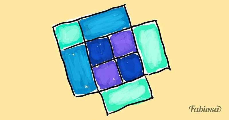 Juegos de atención: ¿es posible determinar cuántos cuadrados hay en esta figura?