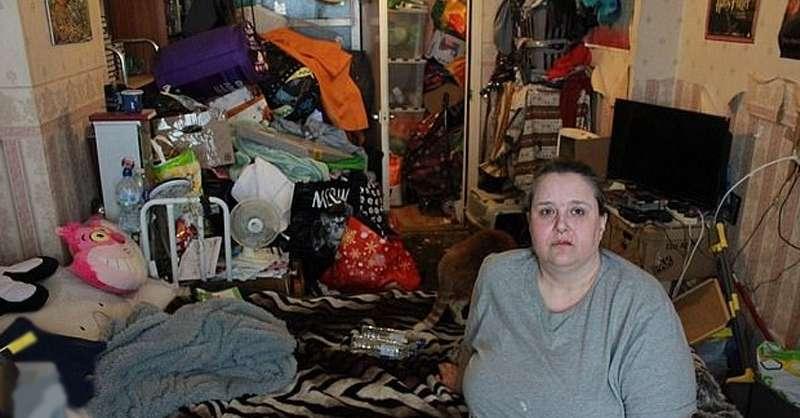 Барахольщица превратила свою квартиру в свалку: она живет с личинками и насекомыми в метровой горе мусораБарахольщица превратила свою квартиру в свалку: она живет с личинками и насекомыми в метровой горе мусораБарахольщица превратила свою квартиру в свалку: она живет с личинками и насекомыми в метровой горе мусораБарахольщица превратила свою квартиру в свалку: она живет с личинками и насекомыми в метровой горе мусораБарахольщица превратила свою квартиру в свалку: она живет с личинками и насекомыми в метровой горе мусора