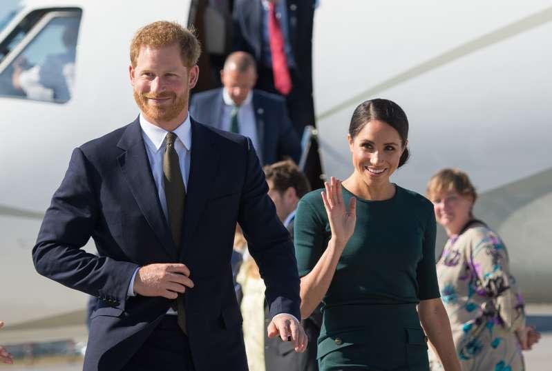 Hasta a ellos les pasa, Harry y Meghan se fueron de viaje y se toparon con una ex del Príncipe