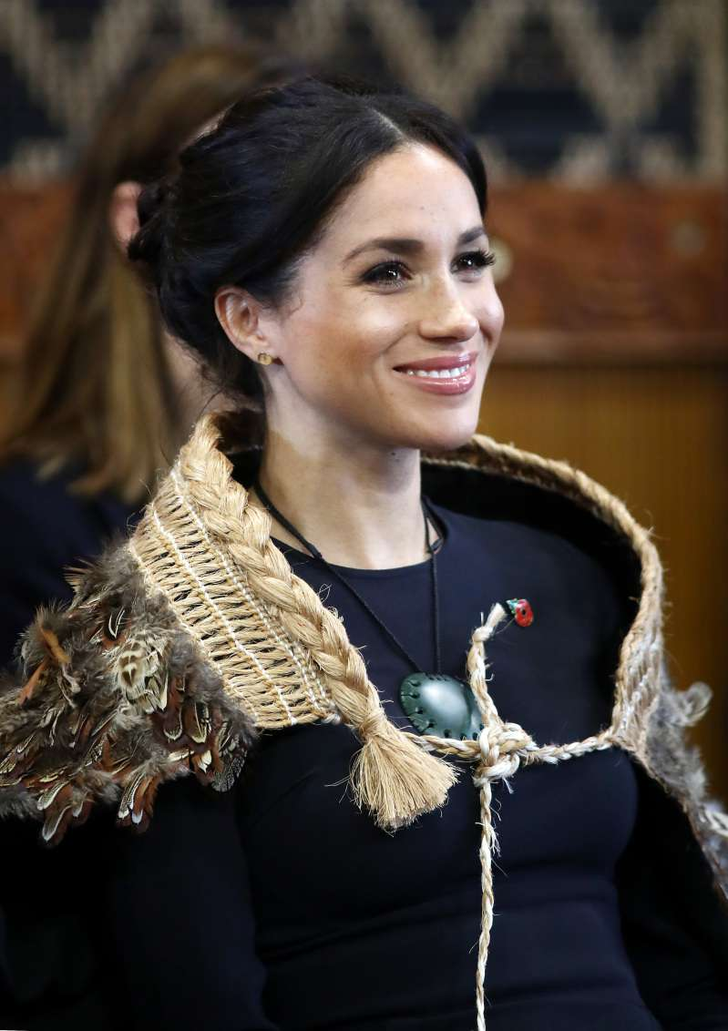 Meghan Markle Stuns In Luxurious $3,873 Midi Dress By Stella McCartney For Her Final Day Of The Royal Tour
