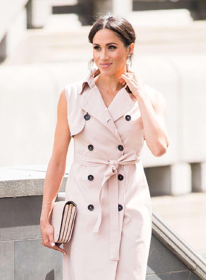 Kate siempre usa mini vestidos durante sus embarazos: todos quisieran que Meghan haga lo mismoMeghan Matkle best dressed 2018