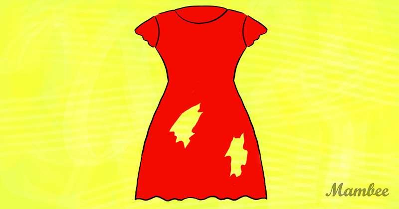 Luce simple, pero es más complicado de lo que parece: ¿cuántos agujeros hay en este vestido?