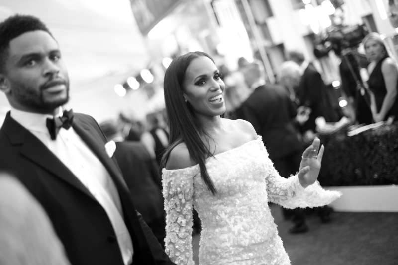 Kerry Washington Kept Her Motherhood In Secret But Rare Photo Of Her Family Finally Appeared Online