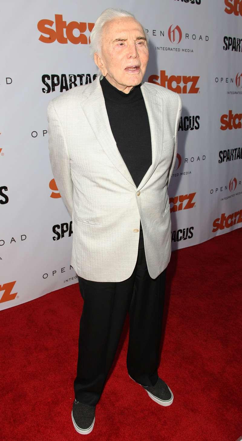 Kirk Douglas reveals suicidal thoughts