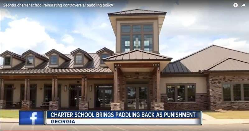 Paddling in Georgia school