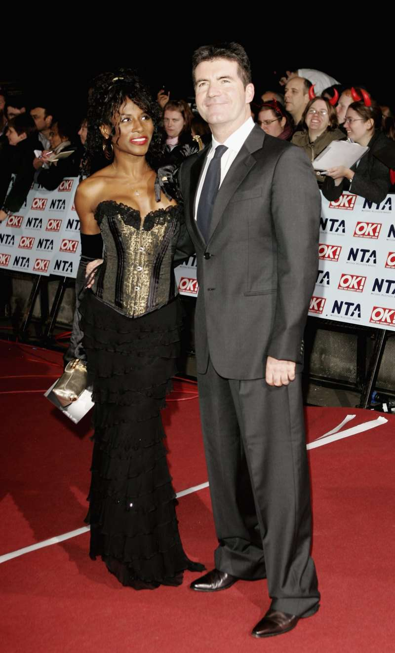 Simon Cowell And His Ex Sinitta Became Godparents To Each Other S Children