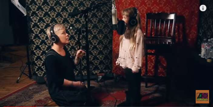 Pink And Her 7-Year-Old Daughter Willow Sing Together In A Heart-Warming Video And It Turns Out To Be A Precious Mother-Daughter Moment