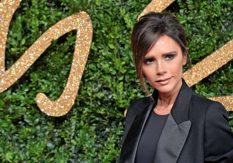 Ultra-Stylish Or Tasteless? Victoria Beckham's Baffling Choice Of Footwear To A Classic Pantsuit
