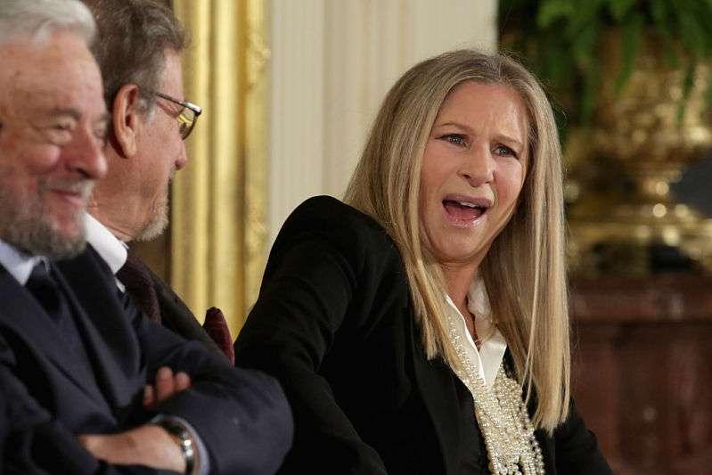 Barbra Streisand confesó que tiene mucho miedo con Trump como el presidente de EE. UU.