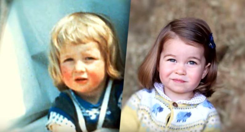 Imágenes de la princesa Diana en su niñez revelan una extraña similitud con su nieta Charlotte