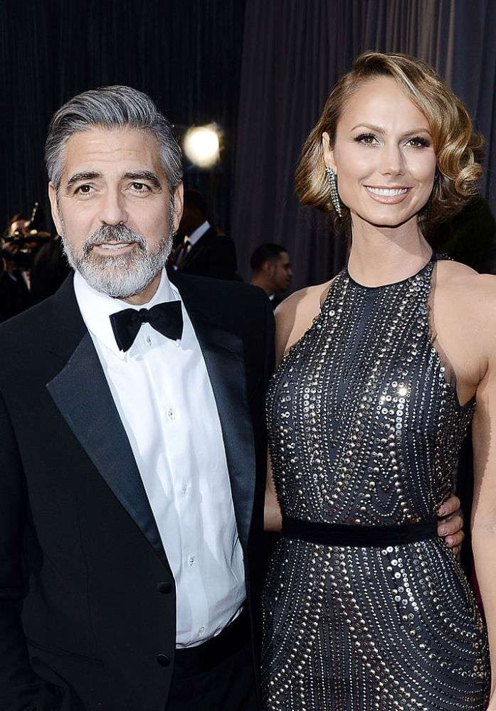 Report Claims That George Clooney Can Be The Father Of Ex Stacy Keibler's Eldest Child
