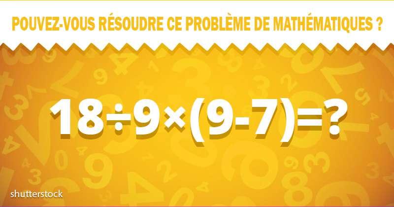 Un test pour le cerveau : essayez de résoudre ce problème de mathématiques sans calculatriceUn test pour le cerveau : essayez de résoudre ce problème de mathématiques sans calculatrice