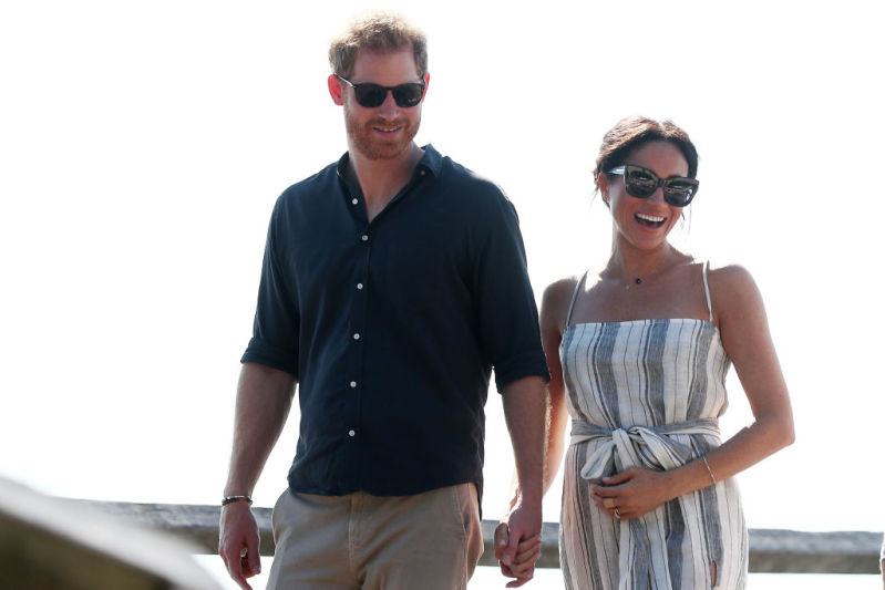 Prince William And Kate Middleton's Relationship Has Changed, And It's All Thanks To Harry And Meghanmeghan markle cradles baby bump