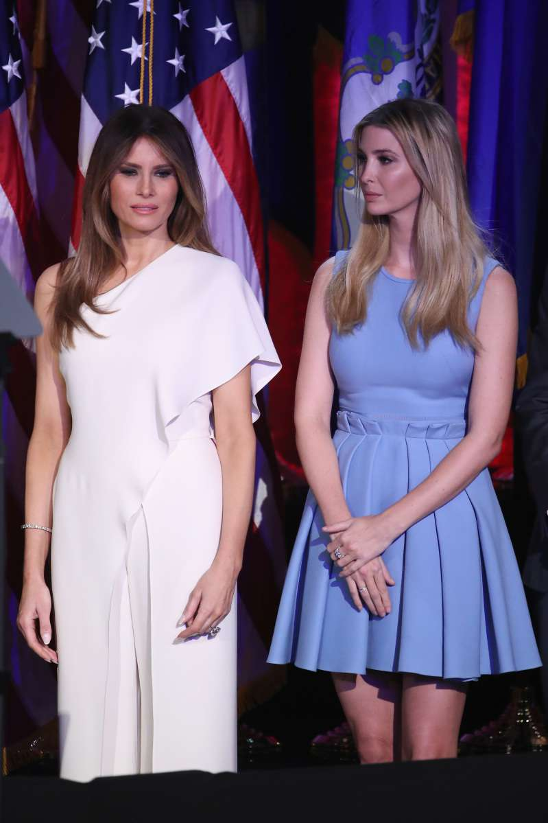 Wait, What? Seems Like Melania Trump Was Copying Ivanka. Or Is It Really So?Wait, What? Seems Like Melania Trump Was Copying Ivanka. Or Is It Really So?