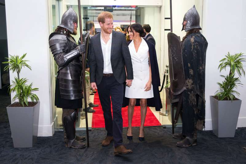 3 Times Meghan Markle Has Appeared In Ultra-Fashionable Coat Dressesmeghan markle and prince harry in new zealand