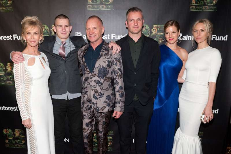 No Money For Kids? Sting Says His Six Children Will Not Inherit His £180Million Fortune