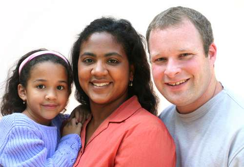 Biracial Couple Moves In Together After The First Date. 7 Years Later They Have 3 Children, And Are Still So Much In Love!