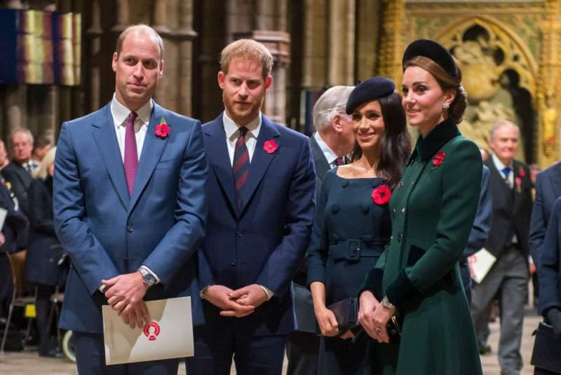 Retrouvailles, les Fab Four à nouveau unis ! Harry et Meghan se joindront à William et Kate pour le jour du Souvenir