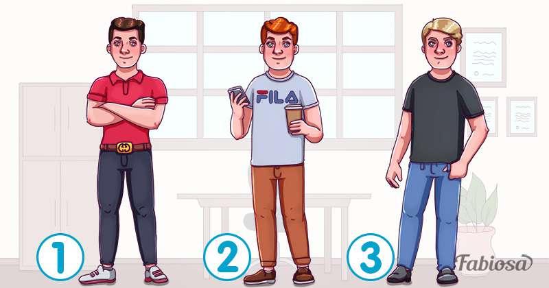Тест на внимательность: какой из парней богач, а где обычные простые парни?which boy is rich, who is rich, who is rich riddle