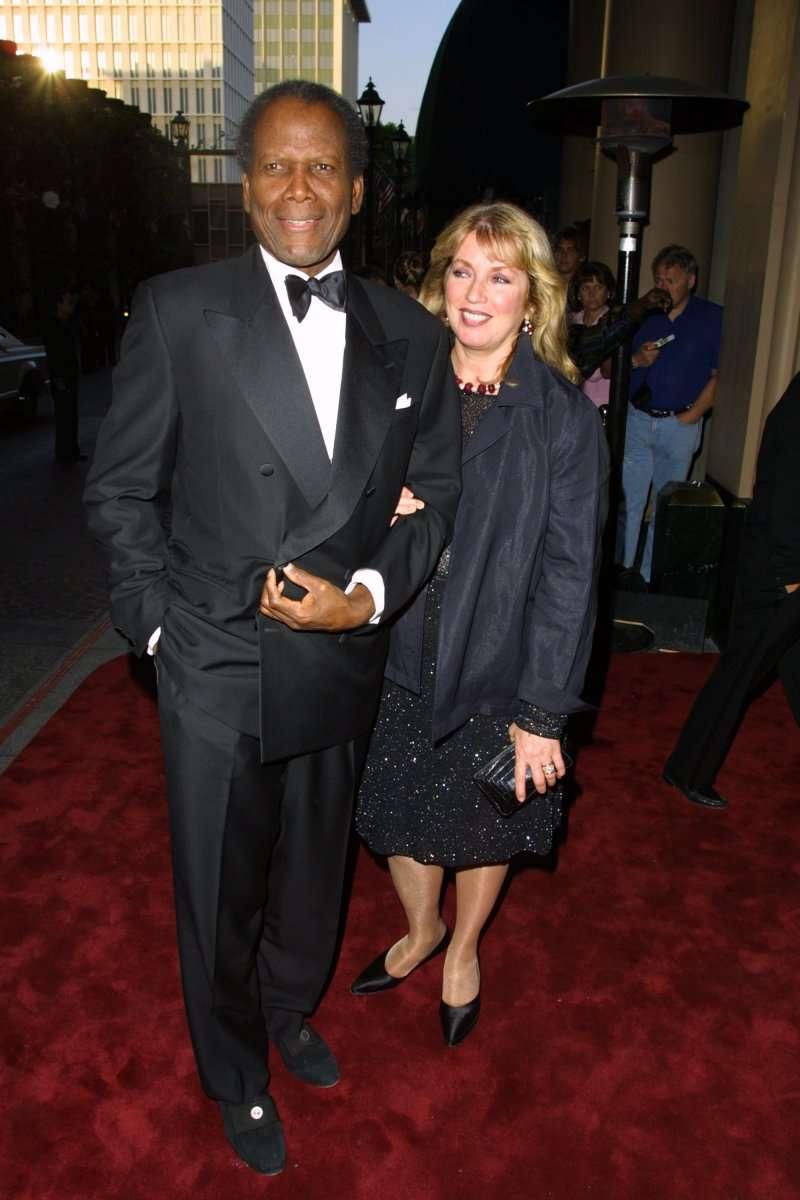 Sidney Poitier, la légende hollywoodienne, et sa femme de XNUMX ans ont une fille magnifique !