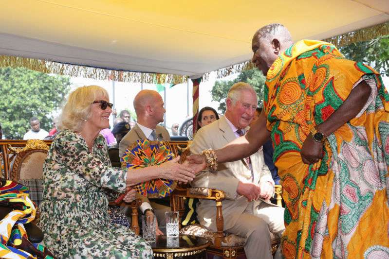 Prince Charles and Camilla's Visit to Ghana: The Resemblance Between The Prince And His Son Becomes More Striking