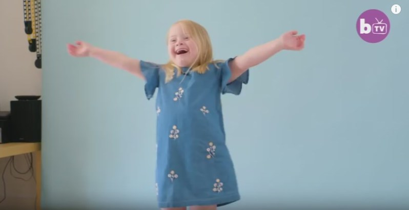 Stunning 7-Year-Old Girl With Down Syndrome Is Taking Over The Modelling World And Dreams About Real Catwalk