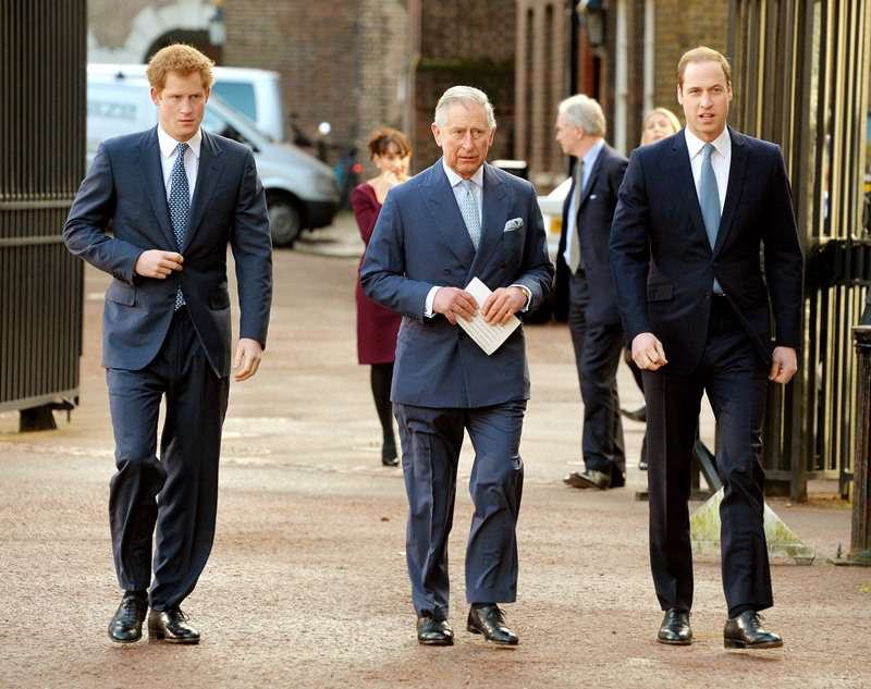 A Documentary Reveals The Young Prince William Was Furious By His Mother's Shocking Revelation About Her Marriage To Prince CharlesPrince Harry, Prince Charles, Prince of Wales and Prince William, Duke of Cambridge