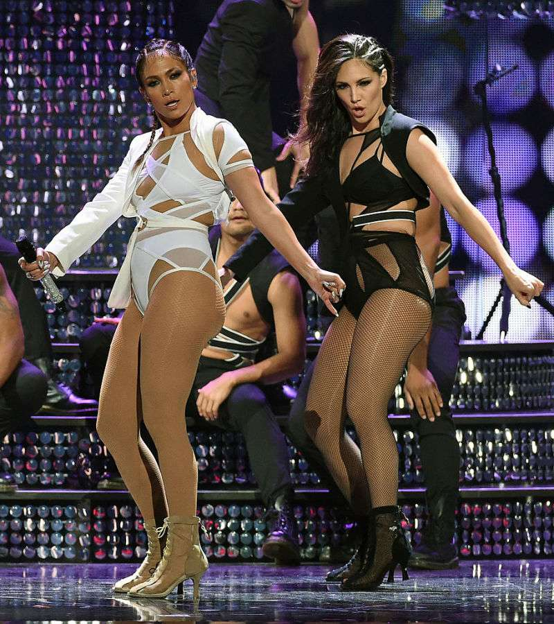 Why Do Celebrities Wear Nude Fishnets On Stage?