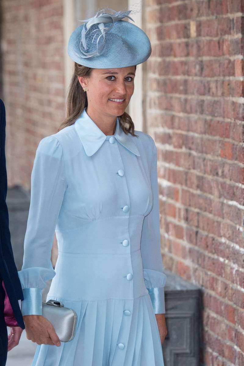 Pippa Middleton wurde entdeckt, als sie in das gleiche Krankenhaus ging, in dem Schwester Kate ihr Baby bekommen hatte
