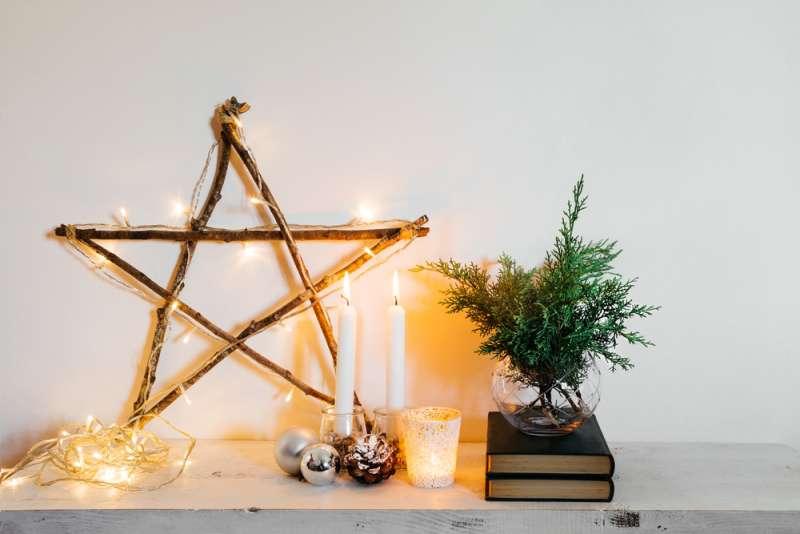 Stella Per Albero Di Natale Fai Da Te.Decorazioni Natalizie Fai Da Te Tre Idee Per Decorare Gli I Su