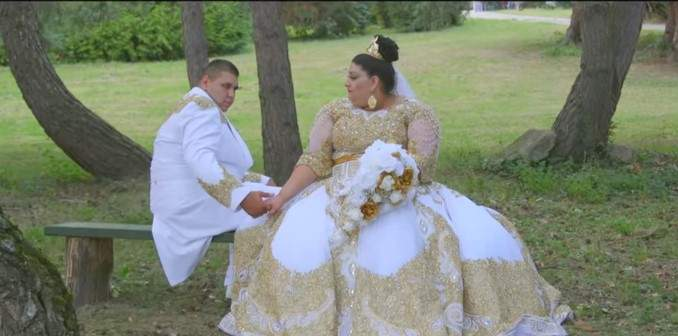 Super Lavish Gypsy Wedding: 19-Year-Old Romanian Bride Wore White And Gold Dress That Cost A Whopping $200,000 For Her Big Day