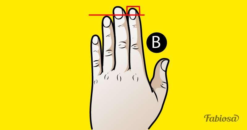 Eine Studie behauptet, dass du das Verhaltensmuster einer Person erkennen kannst, indem du nur die Größe ihrer Finger betrachtestpersonality test