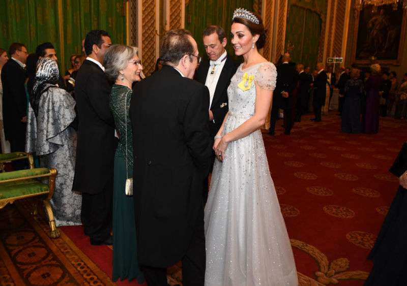 Fit For A Fairy-tale: Duchess Kate Wows In Stunning Dress And The Lover's Knot Tiara