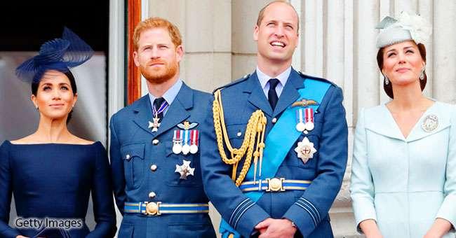 Karališkasis ketvertas princas Viljamas, princas Haris, Keit Midlton ir Megan Markl pradeda oficialiai dirbti kartu