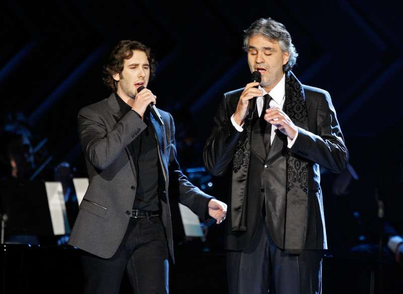 "Andrea Bocelli Sings ""We Will Meet Once Again"" With Josh Groban, And This Powerful Duo Steals Our Hearts"