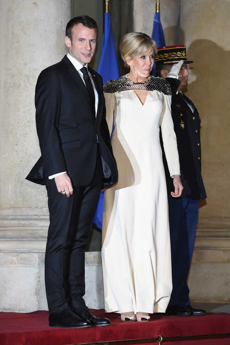 Agree with photo french president wife naked