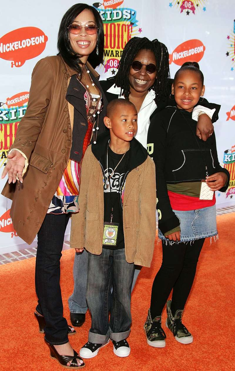 Whoopi Goldberg's Grandchildren Have Grown Up So Fast And They're Still Very Much Like Her!jerzey dean, mason dean, amarah dean