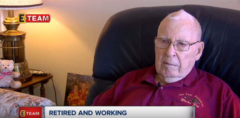 87-Year-Old Man Starts Commercial Driver's Classes To Save Wife From The Breast Cancer