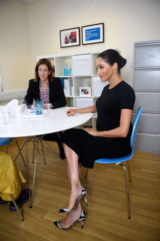 Pregnant Meghan Markle Steps Out As Latest Royal Patron In Interesting Shoes She Had Flaunted Once BeforePregnant Meghan Markle Steps Out As Latest Royal Patron In Interesting Shoes She Had Flaunted Once Before