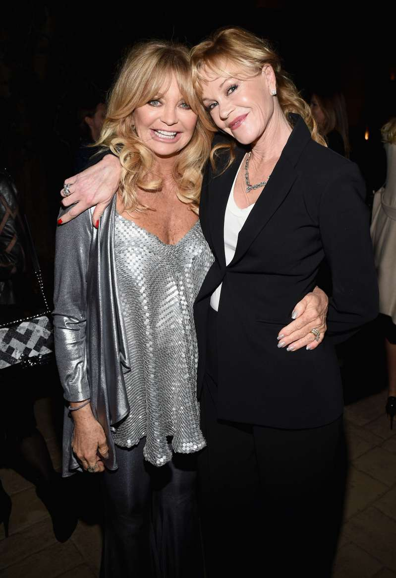 Girls Night! 61-Year-Old Melanie Griffith And 72-Year-Old Goldie Hawn Shined Together While Attending Sting Concert In LA