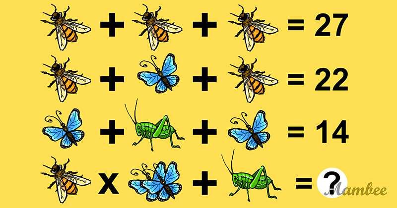Séance d'entrainement pour le cerveau : pouvez-vous trouver la solution de ce puzzle mathématique déroutant ?