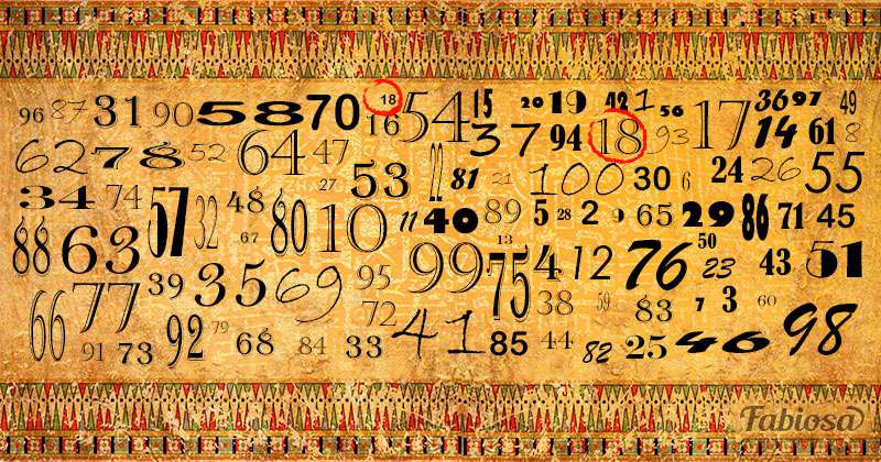 Test d'attention : combien de temps vous faut-il pour repérer un numéro double?