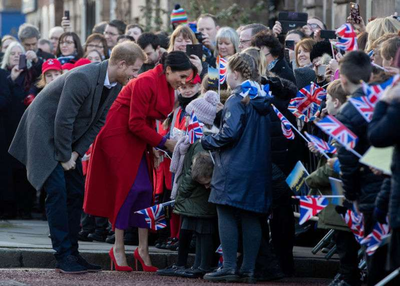 """Una mujer llamó """"gorda"""" a Meghan Markle y la reacción de la duquesa fue totalmente inesperadaharry"""