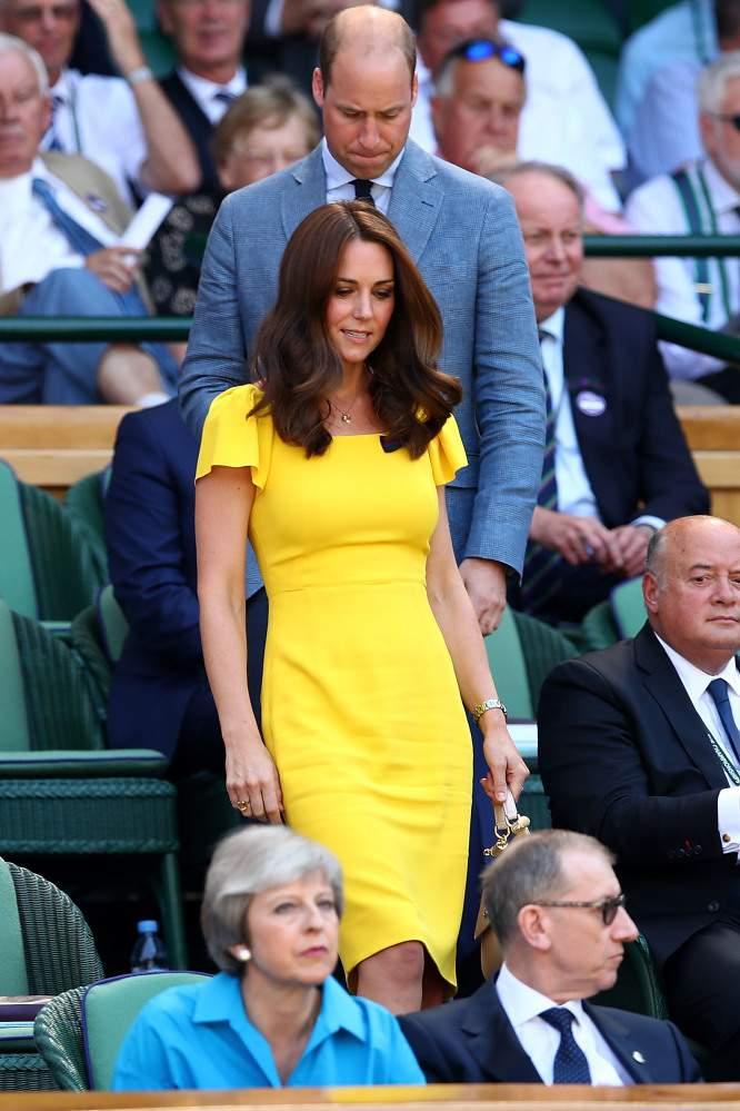 """Kate vuelve a usar su anillo de citrino y """"deja una visión clara de su rol en la realeza"""""""